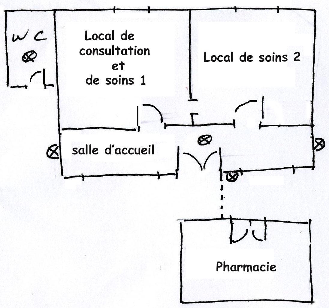 Plan simplifie infirmerie 2