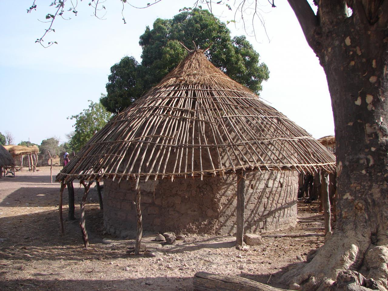 Plan D Une Case Africaine construction d'une case africaine